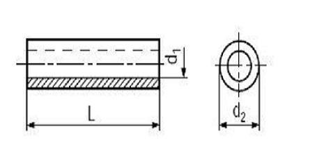 plast pouzdro 2.6x5x5 BN 5281 Firma Killich s.r.o. nabízí plastové součásti. V sortimentu plastových součástí jsou různé ostatní plastové součásti. Jedná se o plastové podložky